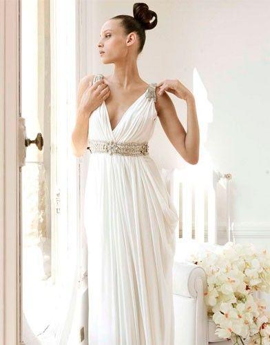 Vestido Novia Corte Imperio Rosa Clara Vestidos De Dama De