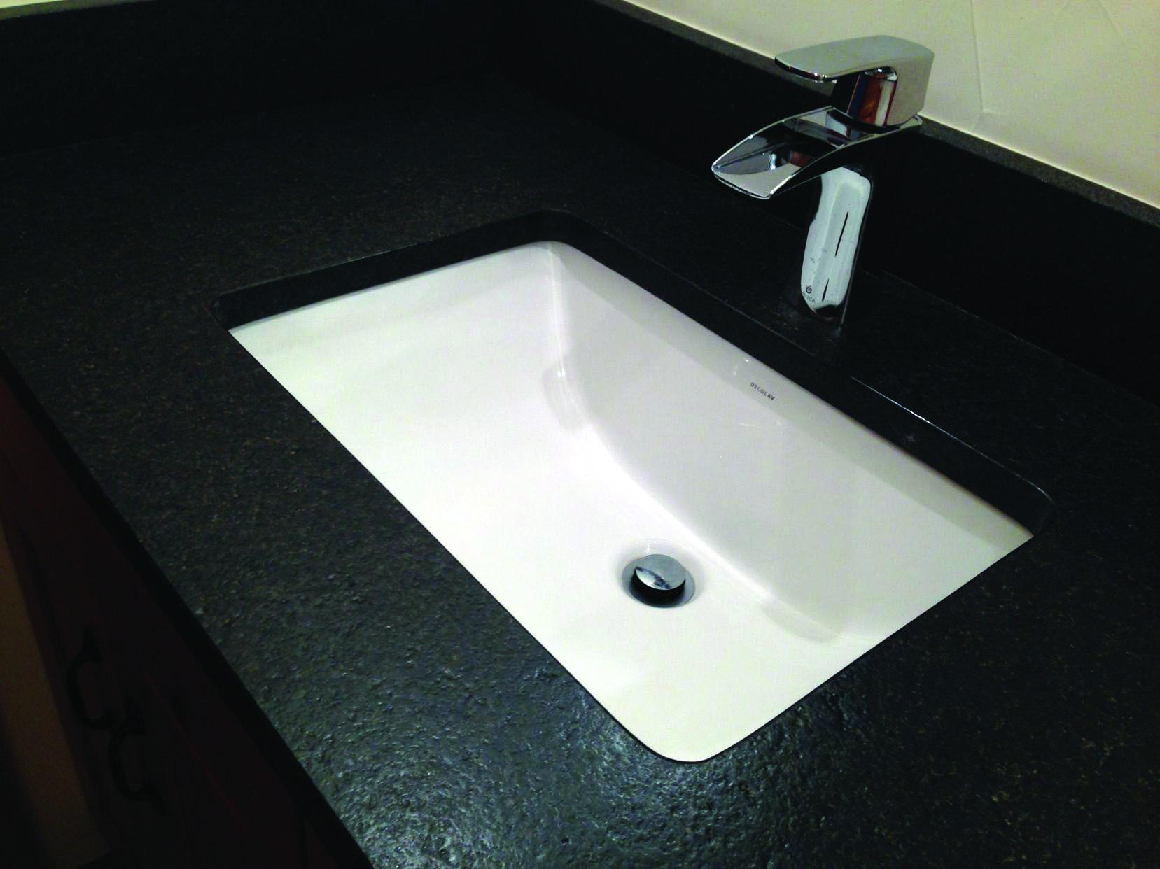 Common Black Granite Countertops
