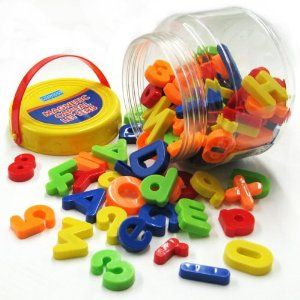 Megcos Toy Company Ltd Educational Products Megcos Fun Magnetic Letters Numbers Set 100 Pi Magnetic Letters Letters And Numbers Montessori Educational Toys