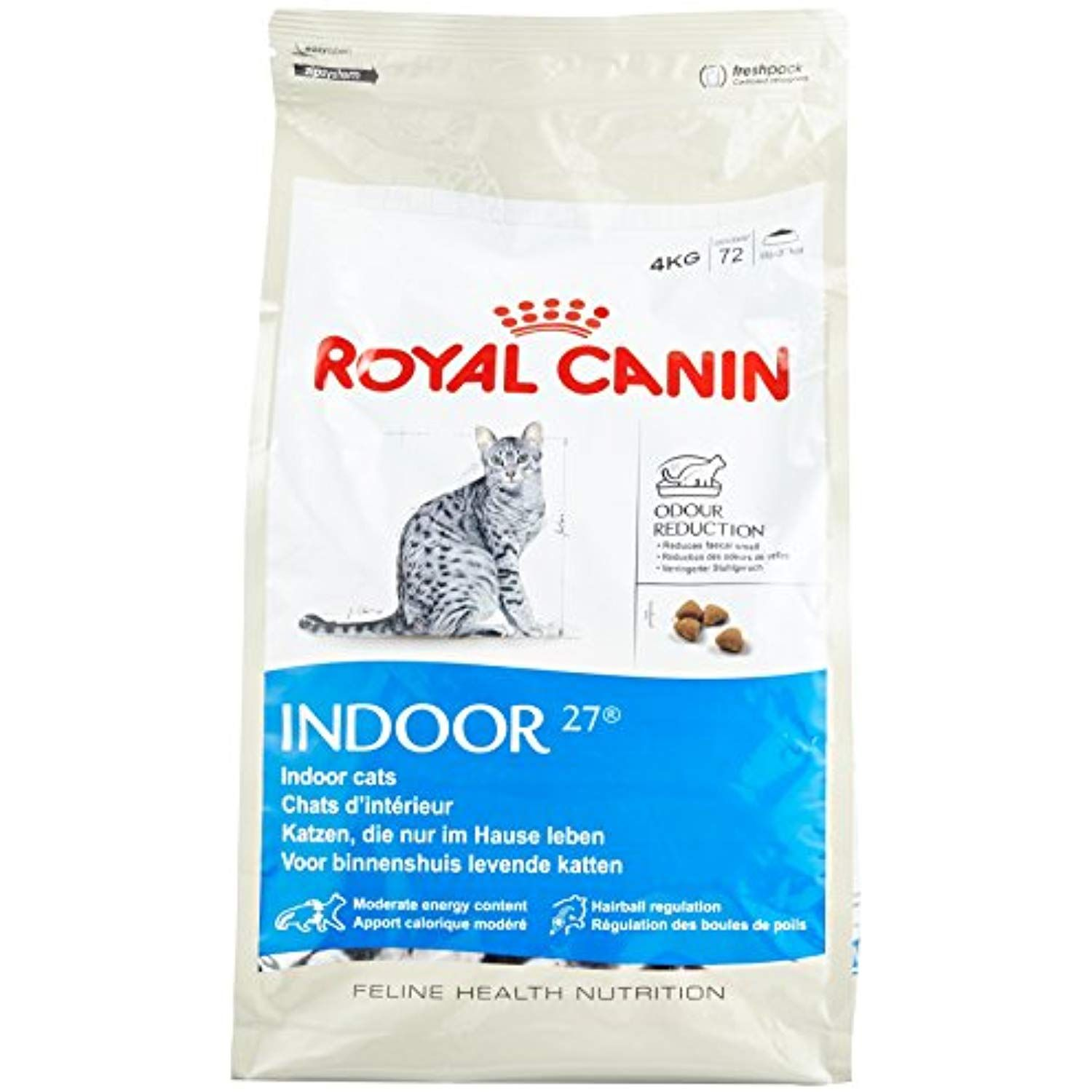 Royal Canin Indoor 27 Cat Food 4 Kg You Can Get More Details By Clicking On The Image This Is An Affiliate Link Cat Food Cat Food Storage Indoor Cat Food