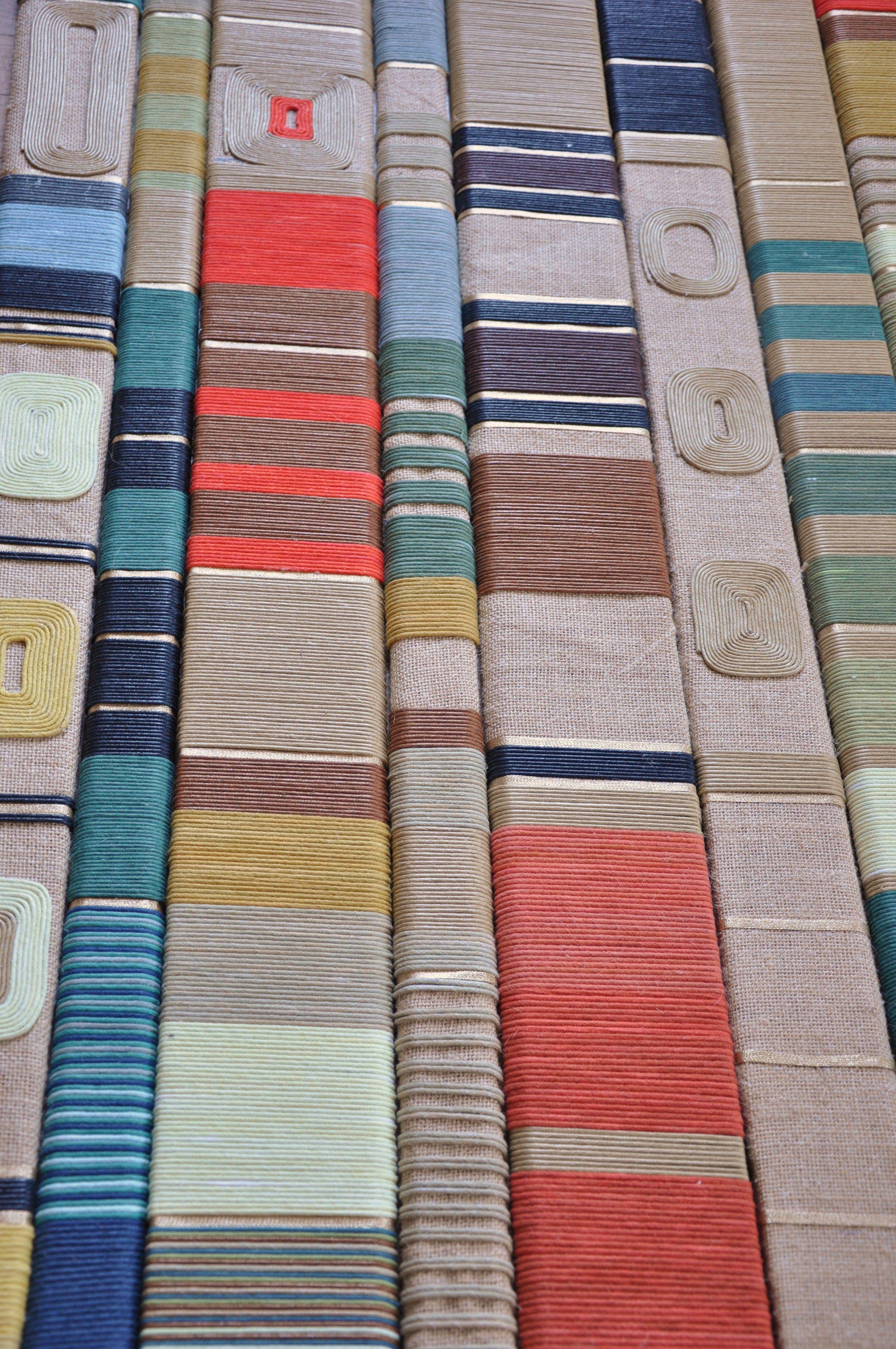 composition mikado th me yackting par veronique de soultrait dr textile pinterest. Black Bedroom Furniture Sets. Home Design Ideas
