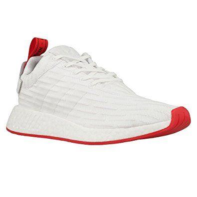 f12e31d9394cd Adidas NMD R2 Primeknit Men s Shoe White Core Red ba7253 (11 D(M) US) Review