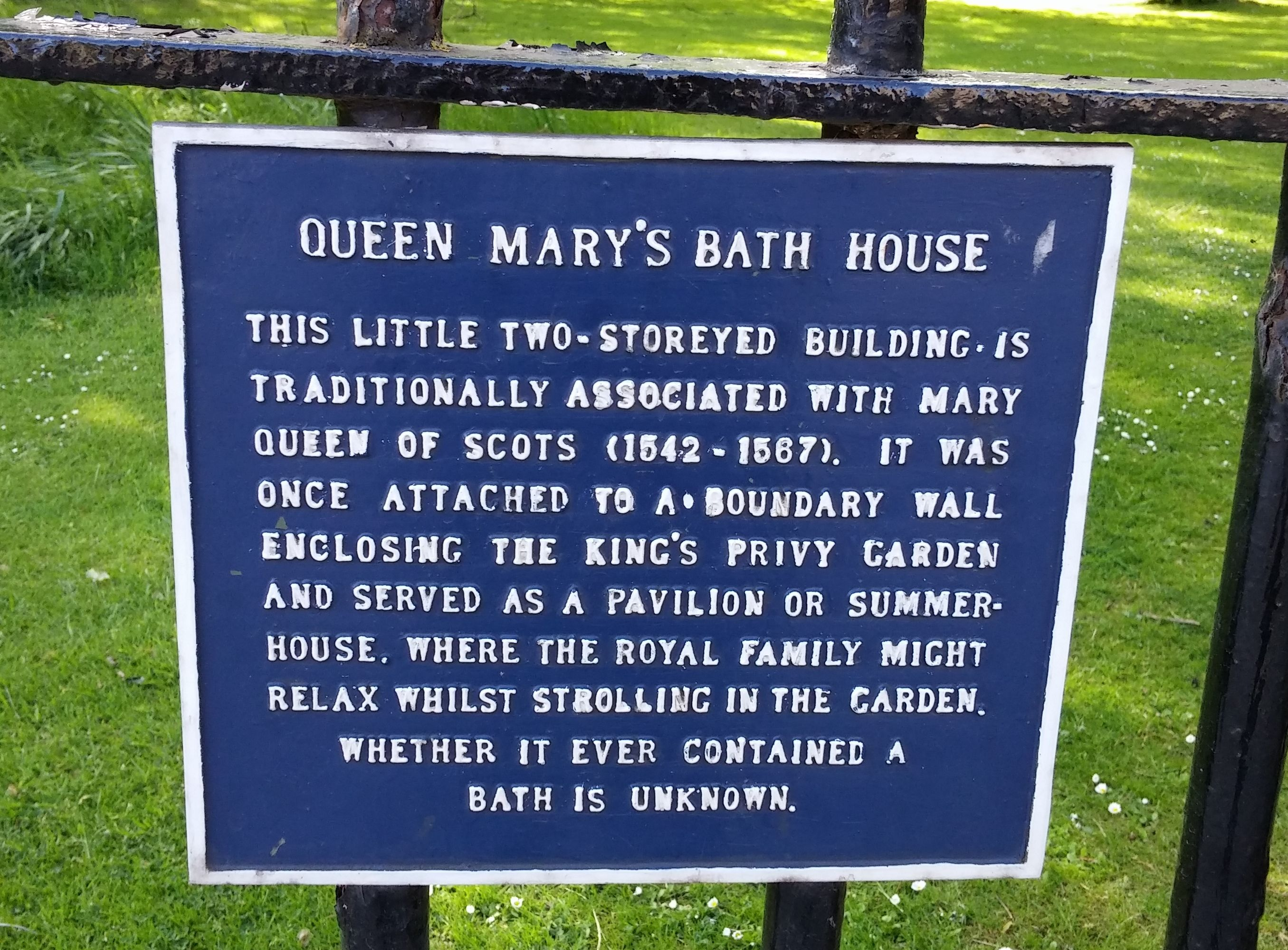 queen mary u0027s bath house sign edinburgh landmarks pinterest
