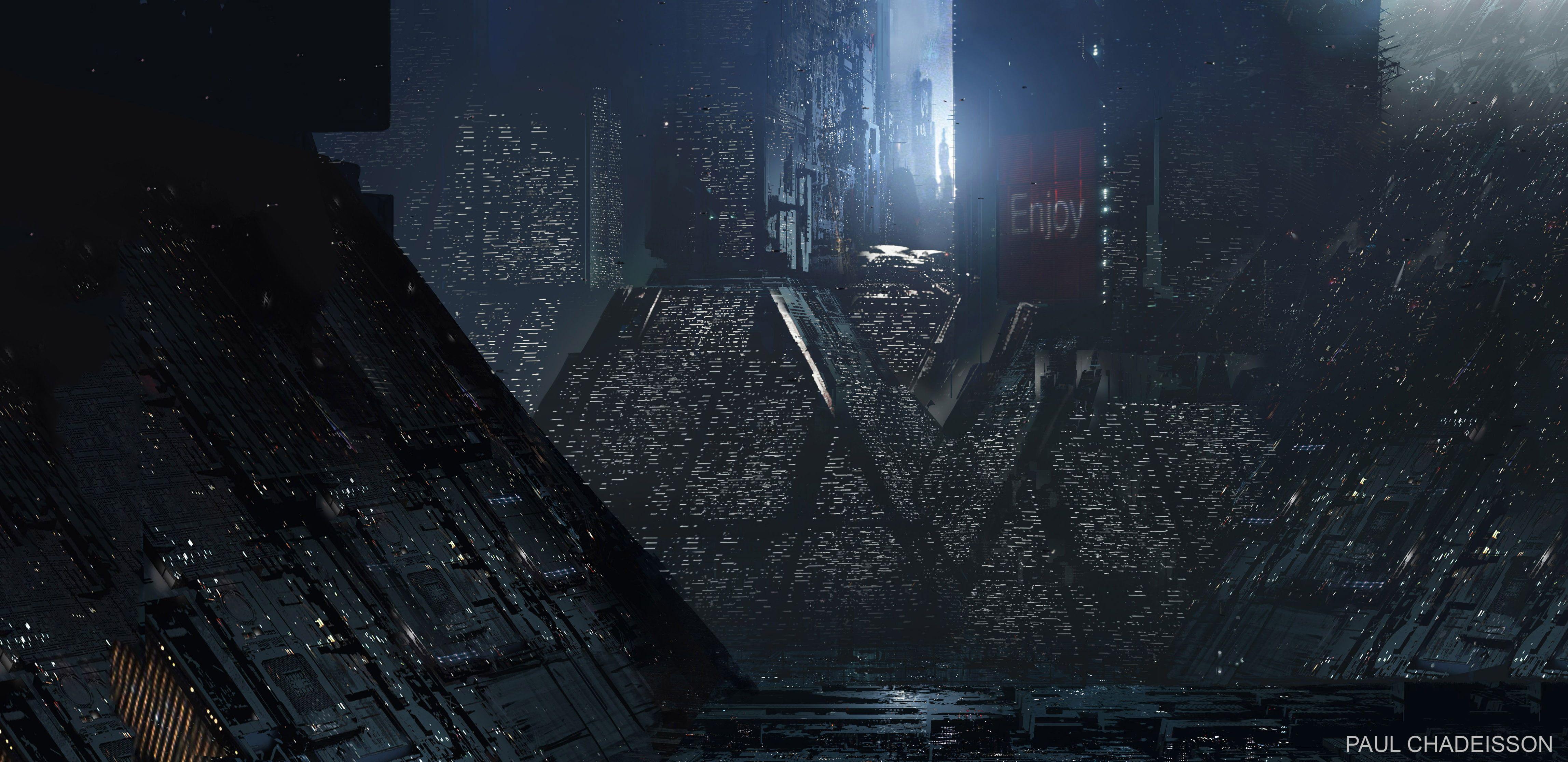 Untitled Blade Runner 2049 Movies Futuristic City Science Fiction 4k Wallpaper Hdwallpaper Desktop Blade Runner Blade Runner 2049 Concept Art