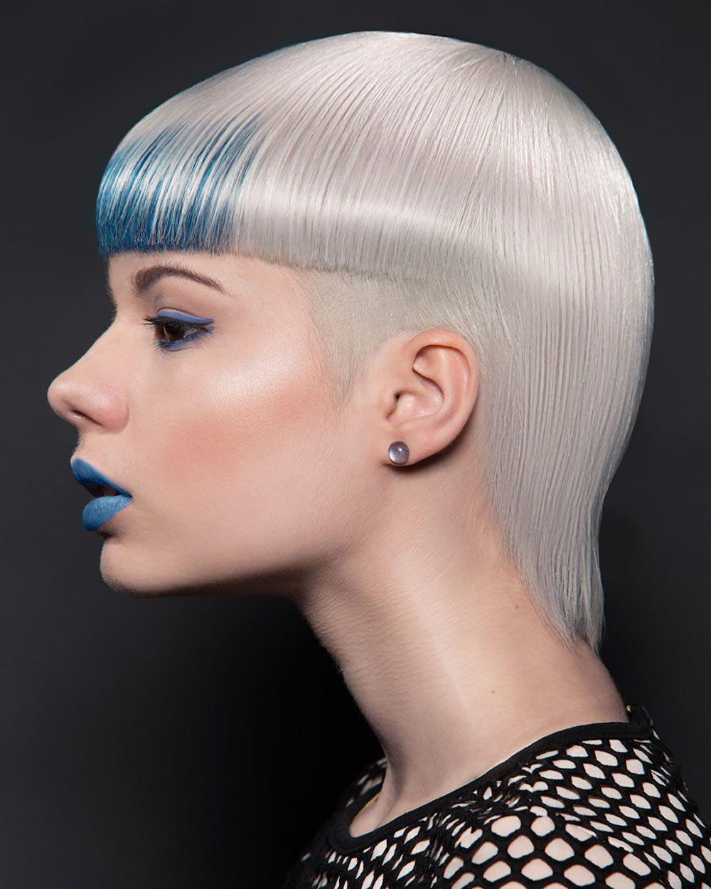 Russische Frauen Kurzhaarschnitte Und Frisuren Fur 2018 Short Hair Styles Edgy Hair Blonde Color