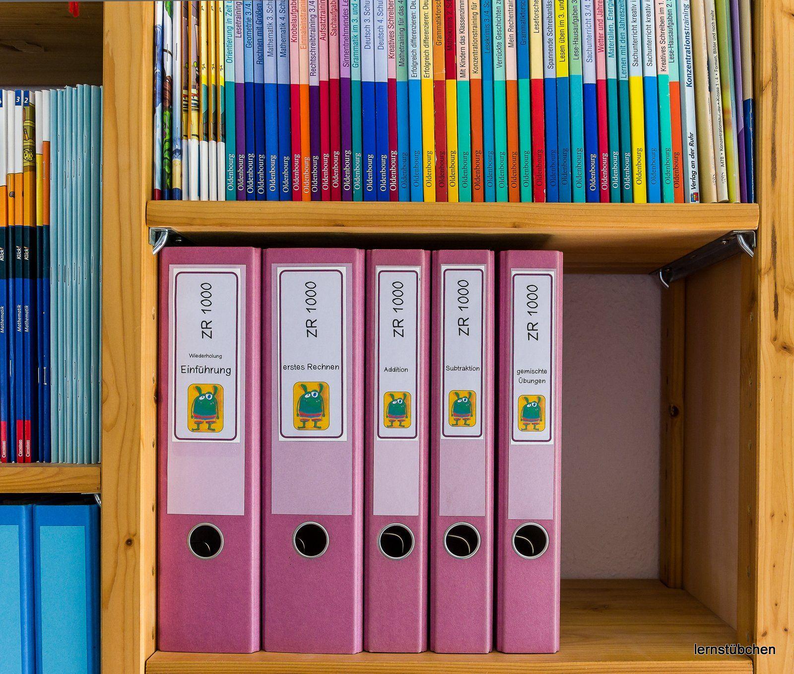 Ordnung Im Lernstubchen Lernen Vorschulideen Lehramt