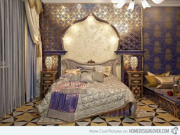 Elaborate Opulence In 20 Luxurious Bedroom Designs