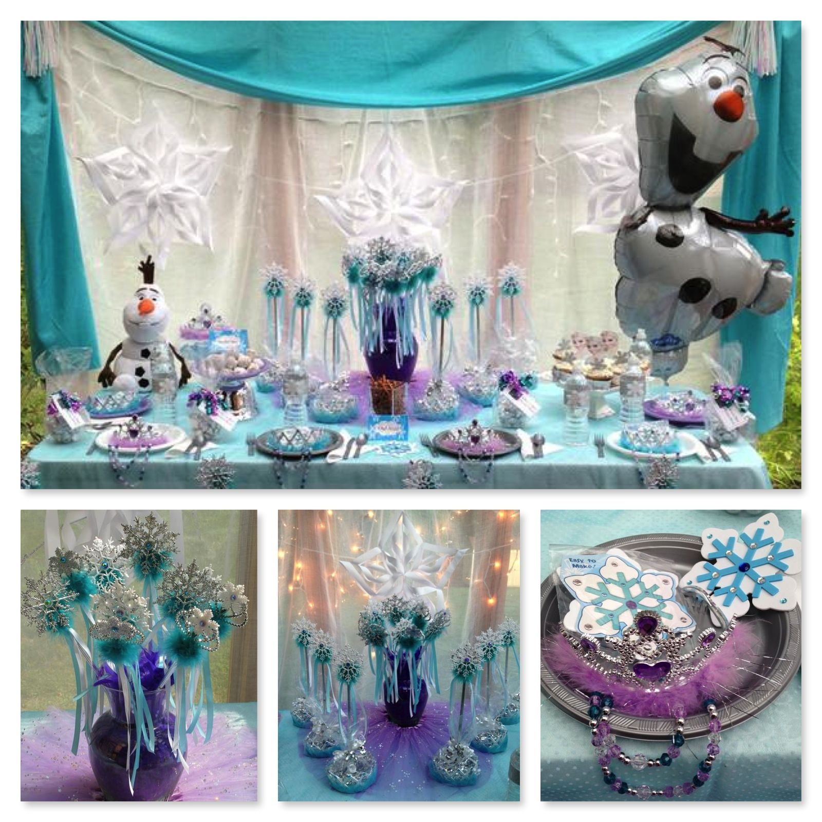 Princess Birthday Party Ideas Decorations For A Frozen Princess