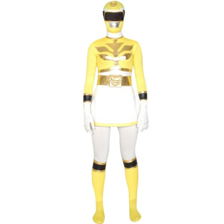Moune Gosei Yellow Power Ranger Costume