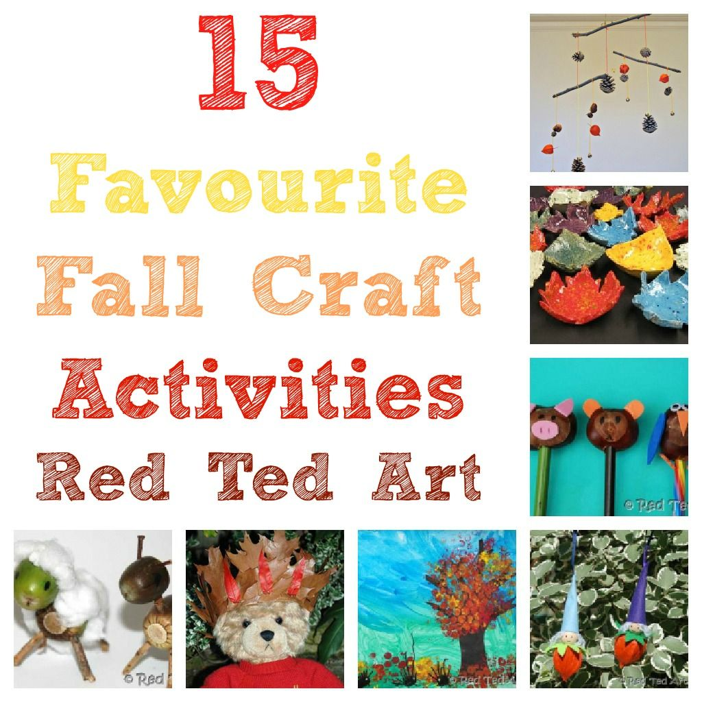Fall Activities to Inspire You from Red Ted Art's Blog