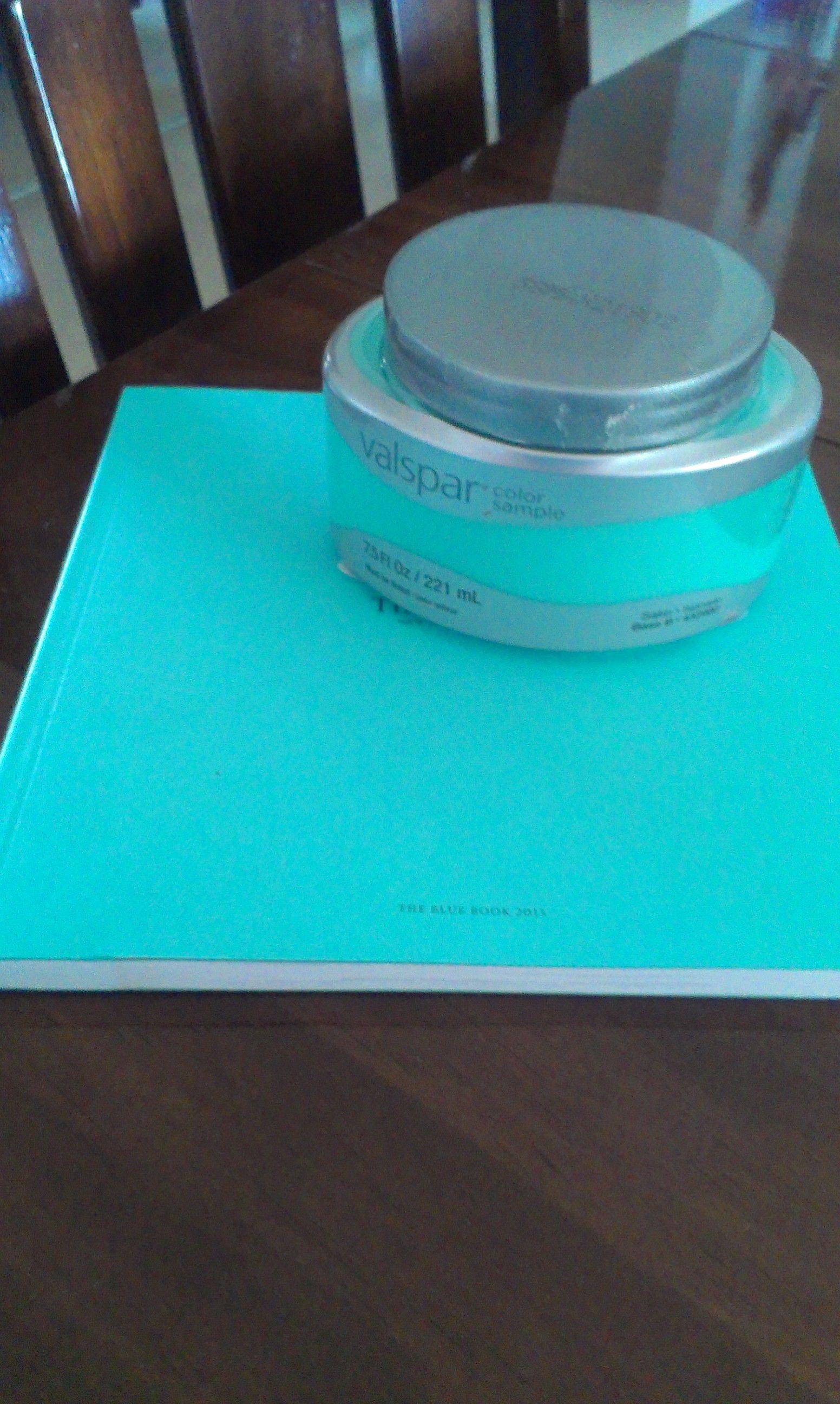 Blue paint samples - Want Tiffany Blue Paint Valspar Seafarer 5007 10a