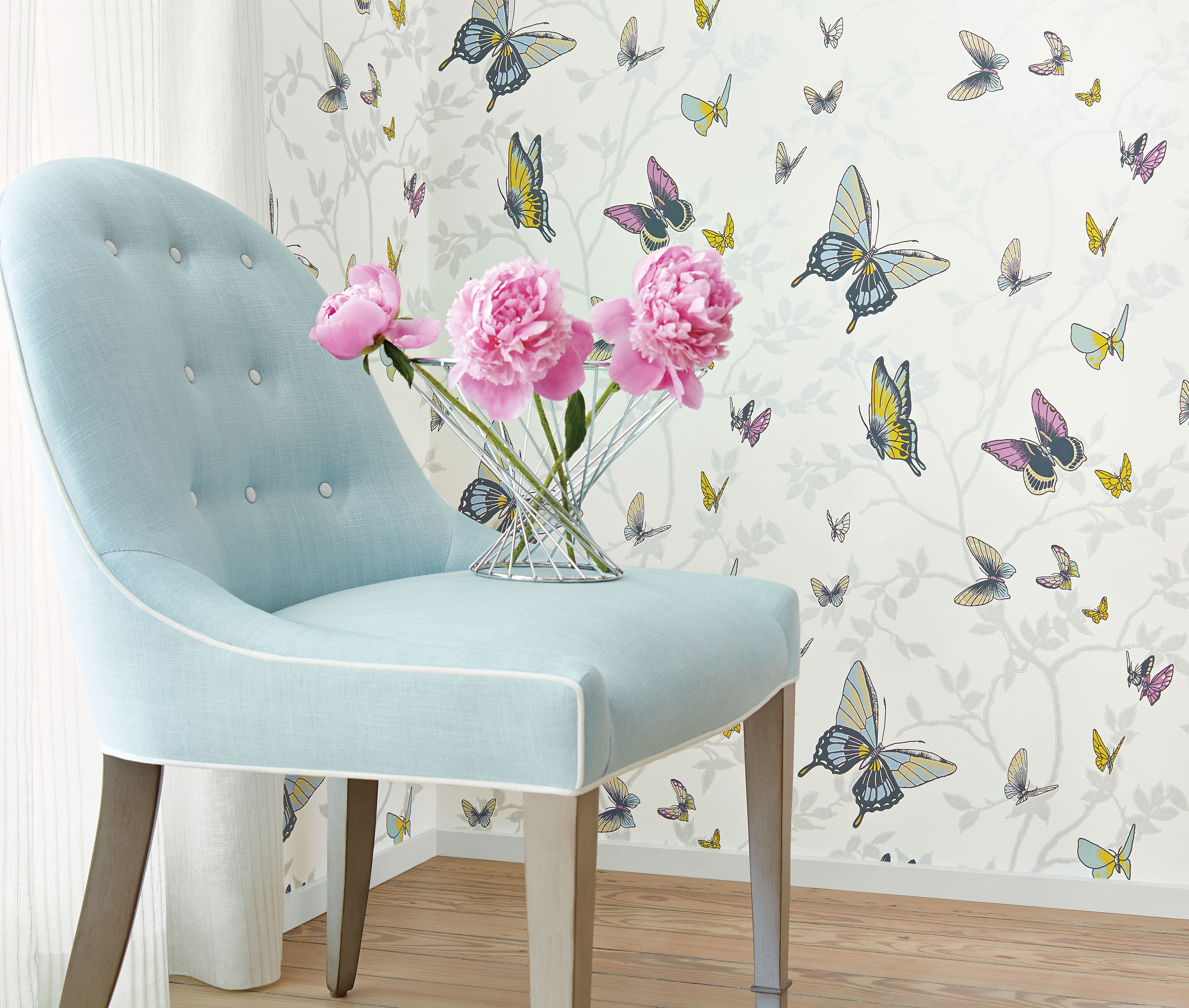 """""""Seraphina"""" Seraphina collection Anna french wallpaper"""