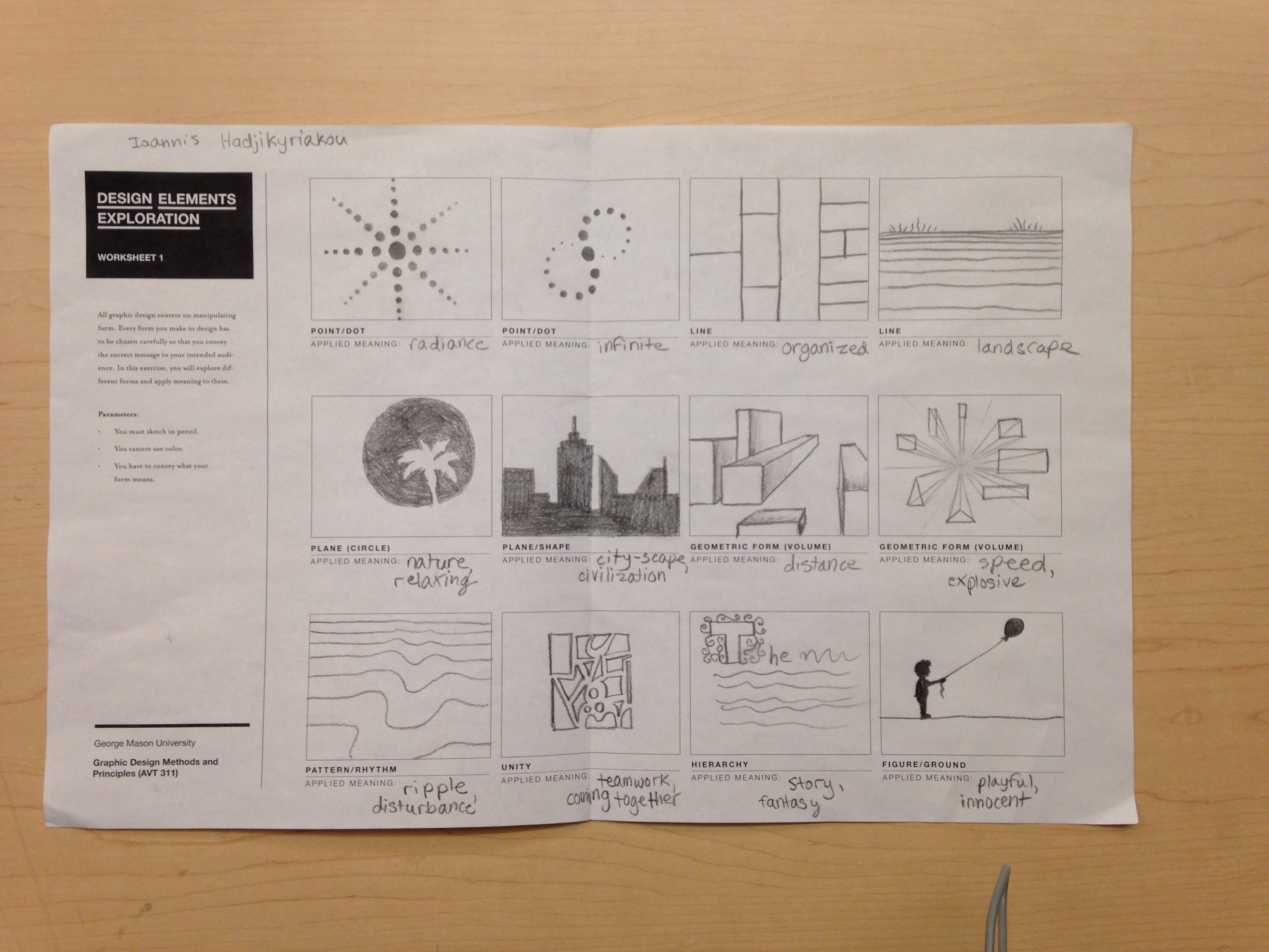 My First Worksheet In Avt 311 Experimenting With