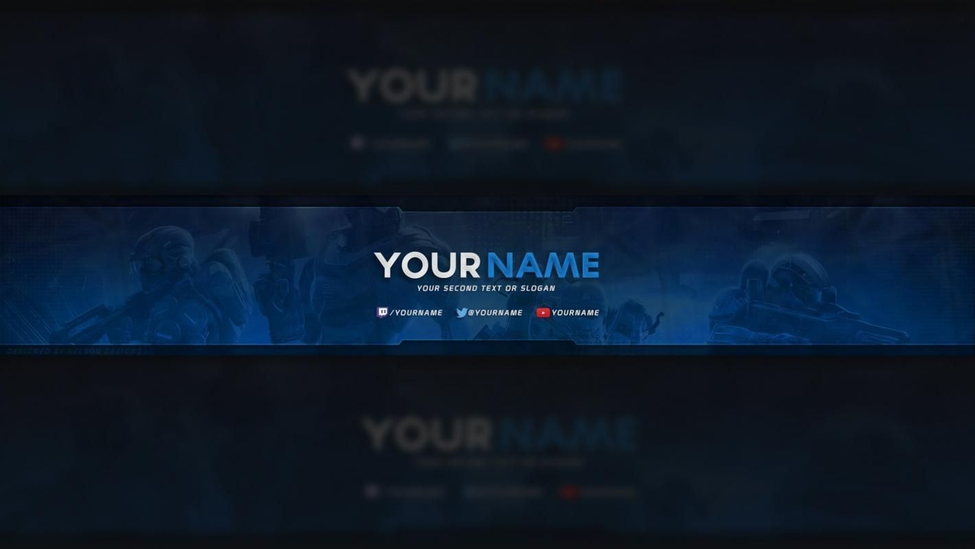 Free Youtube Banner In 2019 Youtube Banner Template Pertaining To Youtube Banners Template Youtube Banner Template Youtube Banner Backgrounds Youtube Banners