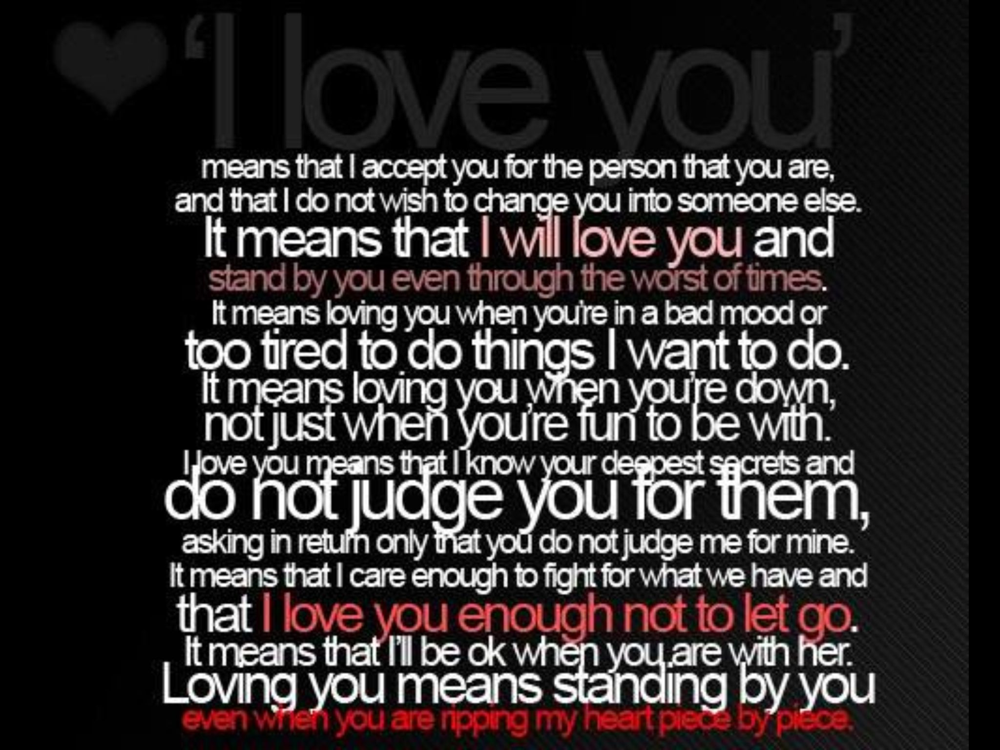 Meaningful Love Quotes Pinkimberly Gannon On Backgrounds  Pinterest