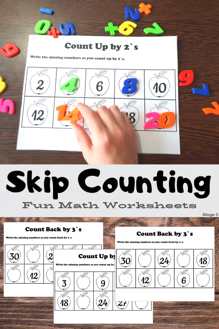 Skip Counting Worksheets Math Work Stations Math Work Special Education Resources [ 1102 x 735 Pixel ]