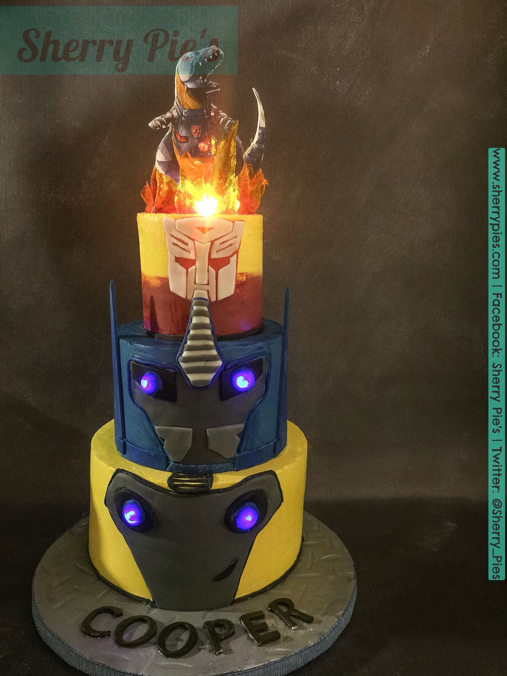 Transformers Cake Party Cakes Cupcakes And Cookies