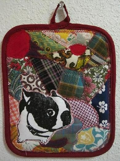 Murphy potholder by Dana Sikkila. I have one of these.