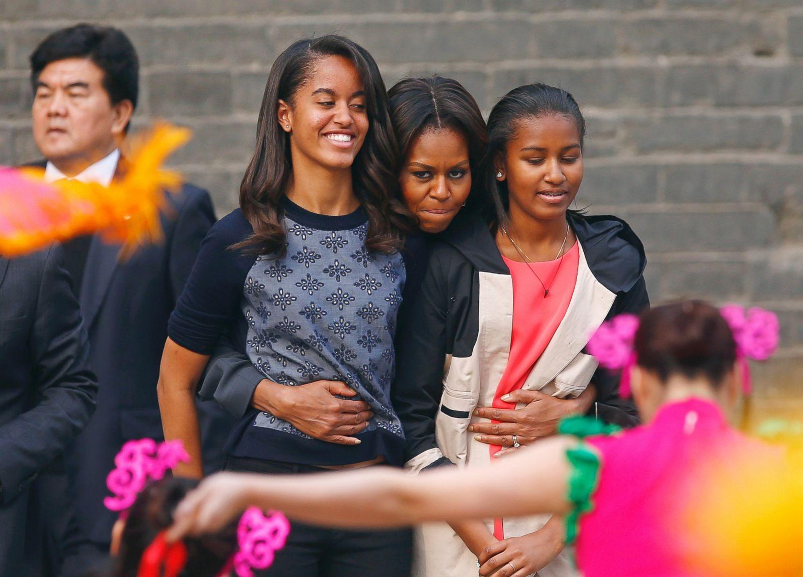 Barack Obama And Michelle Obama Kids 2014
