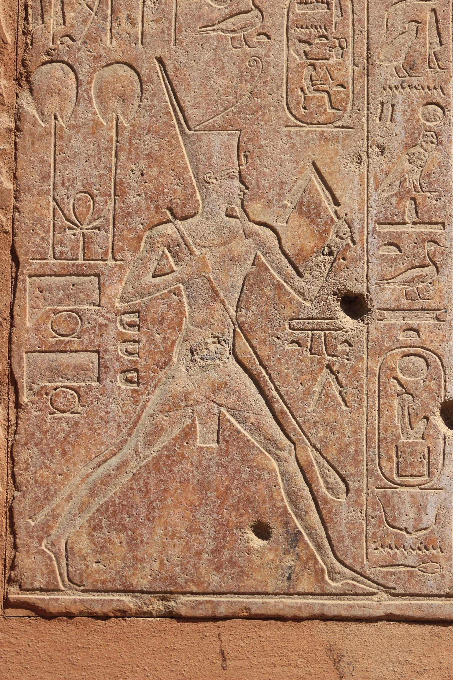 From Hatshepsut Chapel In The Open Museum Karnak Complex Ancient Egyptian Art Ancient Egyptian Egyptian Art