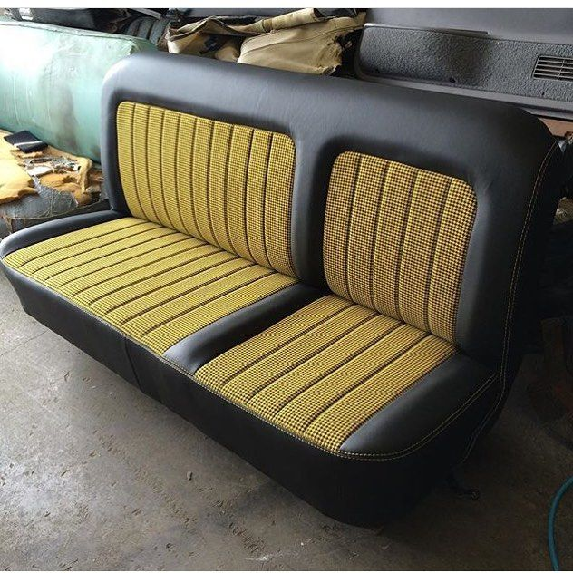 Thehogring Com Page Liked November 26 Custom Bench Seat Upholstered By Pgupholstery Thehogri Car Interior Upholstery Custom Car Interior Car Upholstery