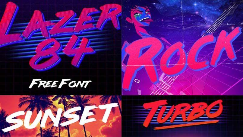 Lazer 84 Font Free Download | Lazer 84 Font Family Free