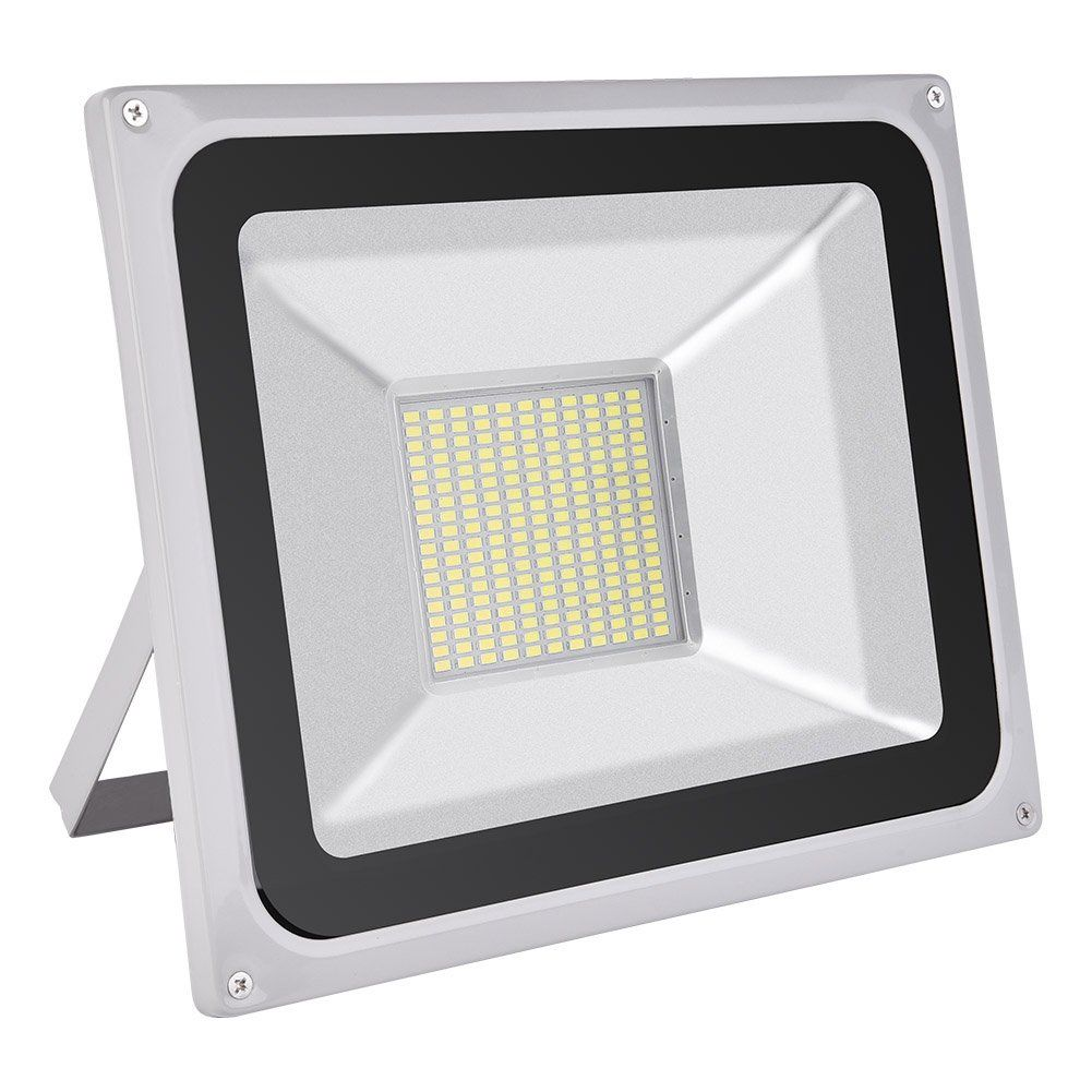 Coolkun 100w led flood lightswaterproof super bright work lights coolkun led flood lightswaterproof super bright work lights outdoor and indoor security light for garage garden lawn and yard daylight white mozeypictures Image collections
