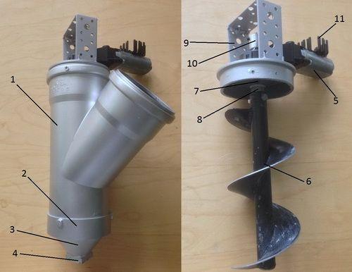 concrete print head design
