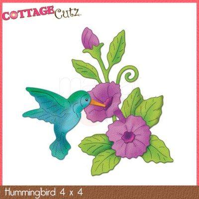 CottageCutz Die - Hummingbird