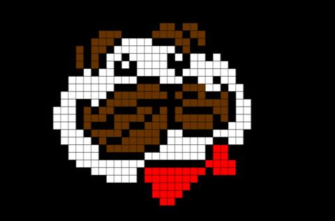 Pixel Pringles Logo Image Pixel Art Dessin Pixel Pixel Art