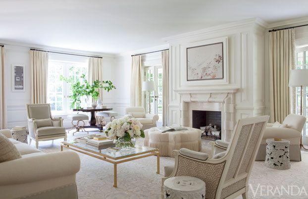 House Tour Elegant Southampton Cottage Elegant Living Room Formal Living Rooms Family Living Rooms