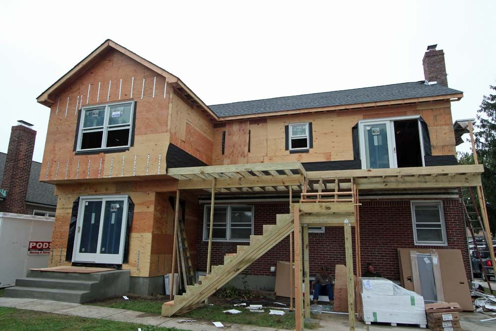 additions to second story deck   2nd Story Addition Mother/Daughter with Rear Deck & Sunroom Extension ...