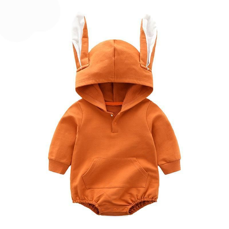 57127fea81935 Baby Rompers Long Sleeve Hooded Cute Rabbit Ears Infant Jumpers Kids – BABY  MOTHER