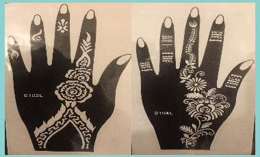 Henna Mehndi Stickers : Mehndi designs for eid henna deisgns