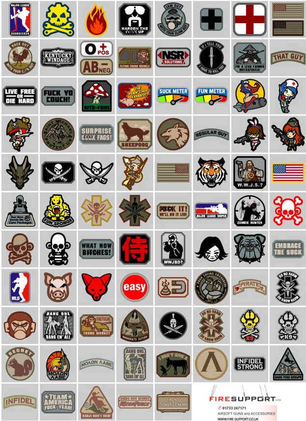Milspec Monkey morale patches and TShirts  916e7df37dd