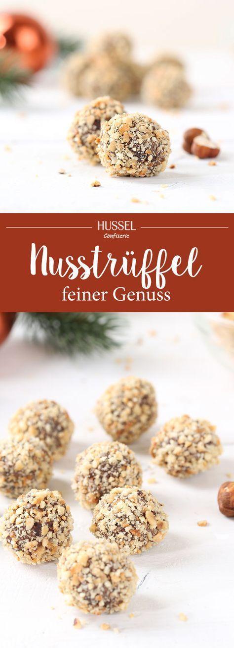 Nusstrüffel - Hussel Confiserie #rezepteherbst