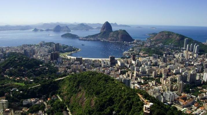 Udsigt over Rio i Brasilien