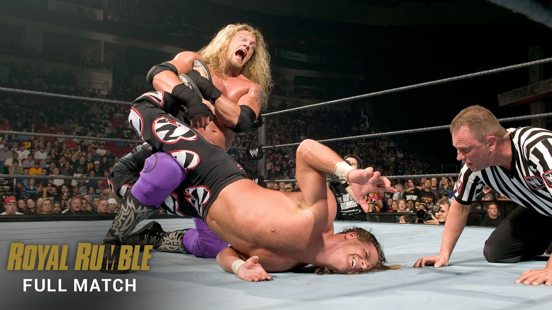 Resultado de imagem para edge vs shawn michaels royal rumble 2005