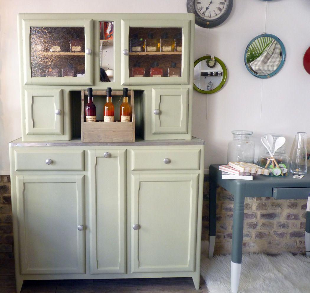 ce buffet ann e 50 r nov par l 39 atelier pi ce unique donnera une touche vintage votre. Black Bedroom Furniture Sets. Home Design Ideas