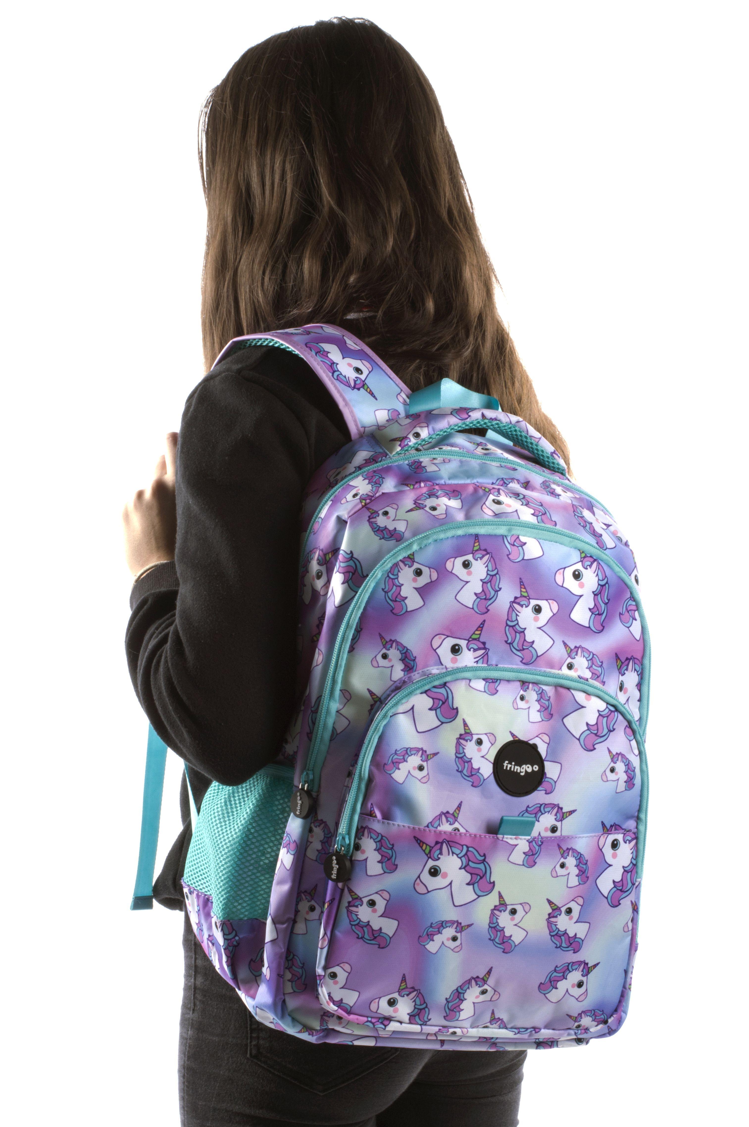 eba2dd8cd450 Multi Compartment Backpack - Hologram Unicorns