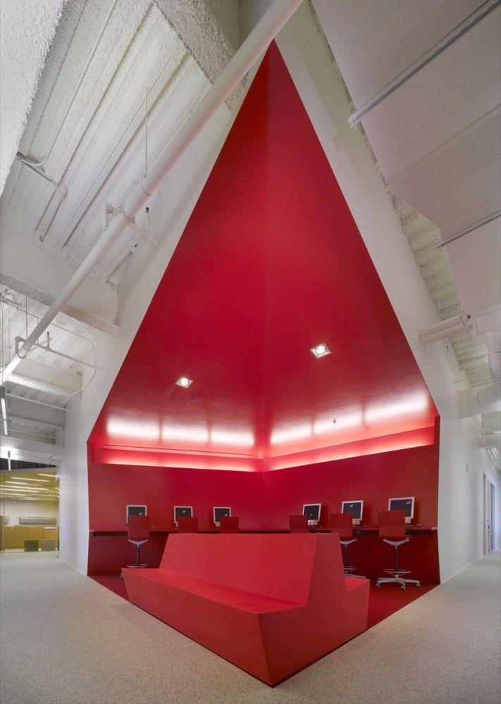 FIDM San Diego Campus Clive Wilkinson Architects Hungry Man Extraordinary Interior Design School San Diego