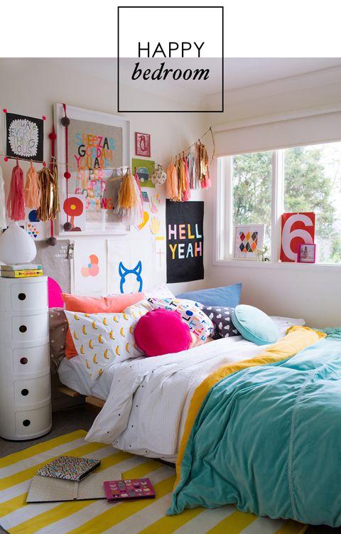 happy bedroom in adore - blog | kids bedroom <3 | room decor