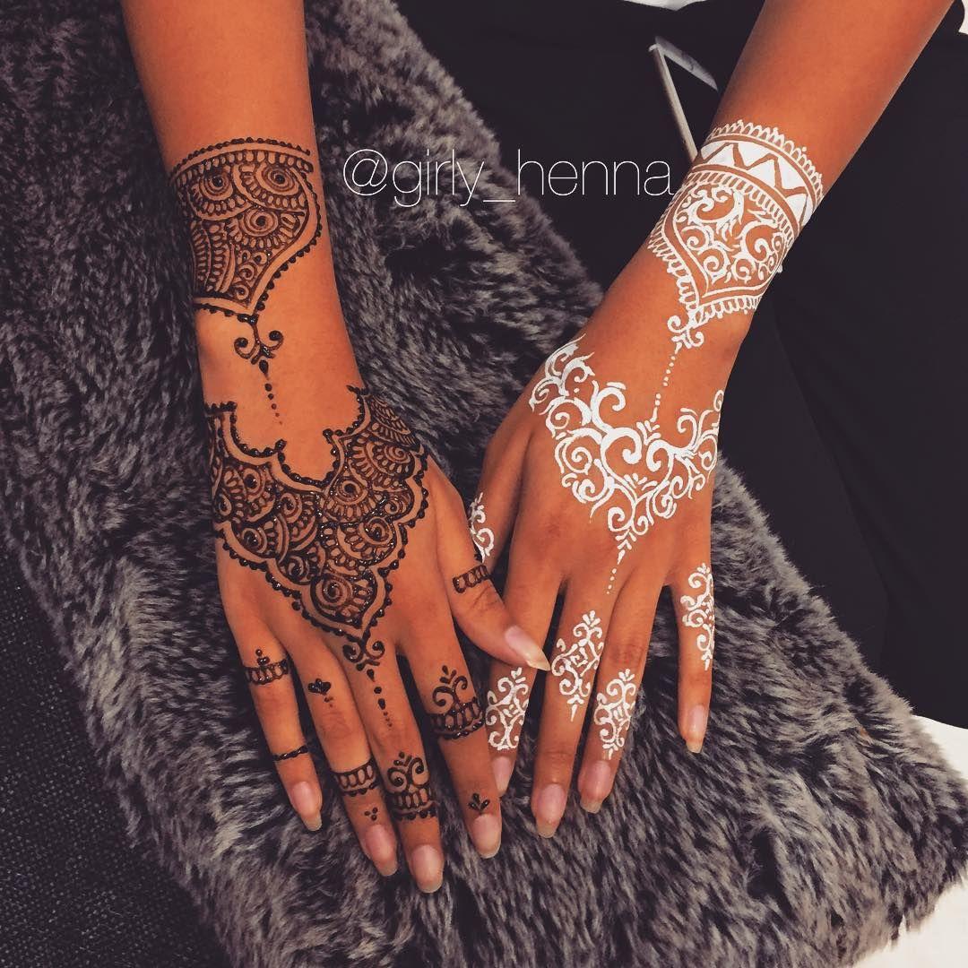 Henna Tattoo Designs Black: Tatouage Au Henné, Modèles Tatouages