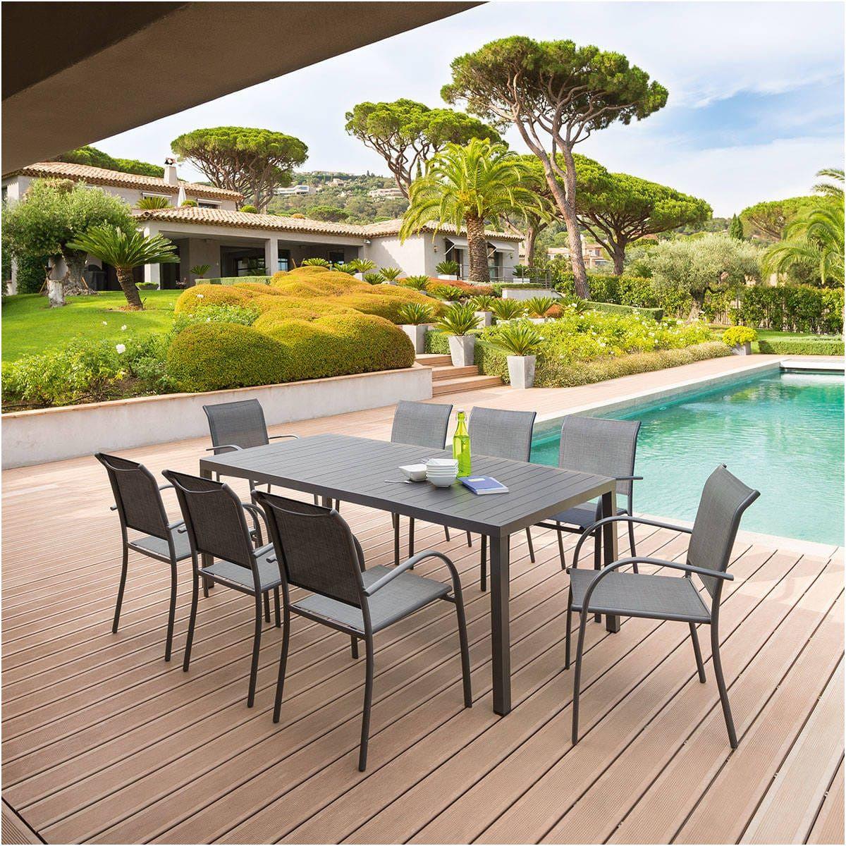 14 Avancé Table De Jardin Aluminium soldes Photograph ...