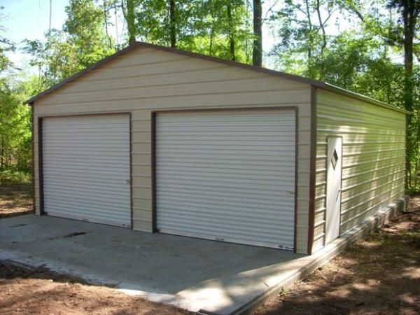 24x30 A Frame Garage With 2 10x8 Roll Up Doors Remember