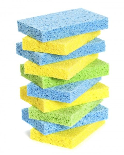 Cleaning Kitchen Sponges Video  The Aromahead Blogwwwaromahead Enchanting Kitchen Sponge Design Decoration