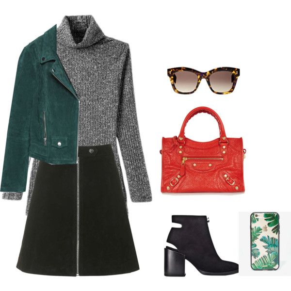 xmas outfit 2 by lostbutnotfound1 on Polyvore featuring Zara, Topshop, Balenciaga, Sonix and Fendi