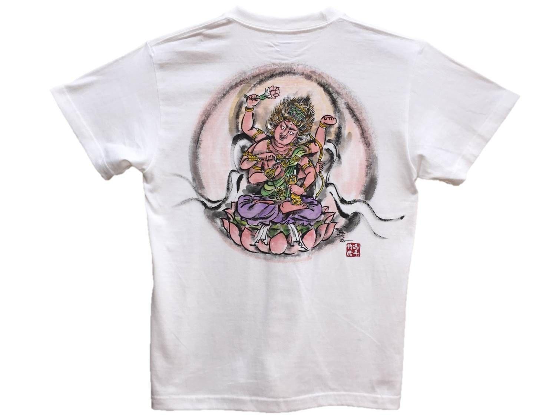 Color in japanese art - T Shirts Men Aizen Myo O Color Buddhist Japanese Art Our Buddhist Art