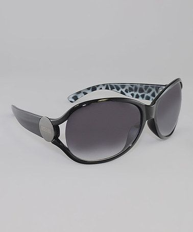 c14e4e3df34 Take a look at this Black   Smoke Gradient Lens Butterfly Sunglasses by  Kenneth Cole Reaction on  zulily today!