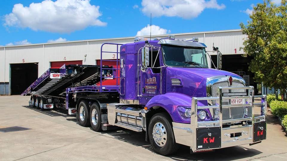 Pin by Wil Courtney on Purple Kenworth trucks, Kenworth